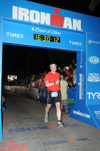 Lawson Ironman 2012 Finish